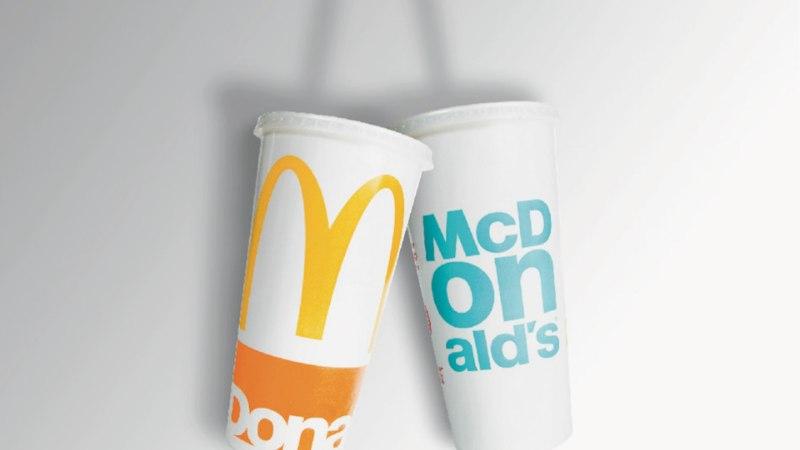 McDonald's kutsub külastajaid üles plastikkõrtest loobuma