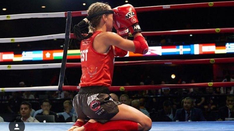 Suvevormi tai poksiga: üliõpilaste maailmameister Andra Aho avab treeninggrupi naistele