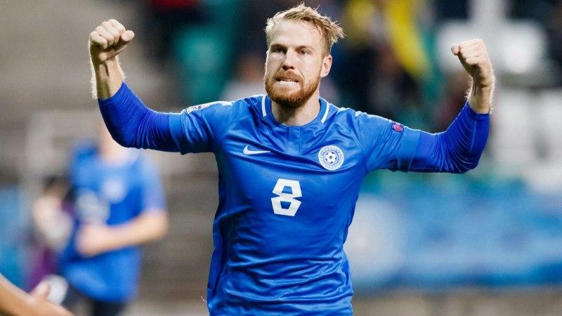 VIDEO | Eesti jalgpallikoondise esiründaja sahistas teist mängu järjest