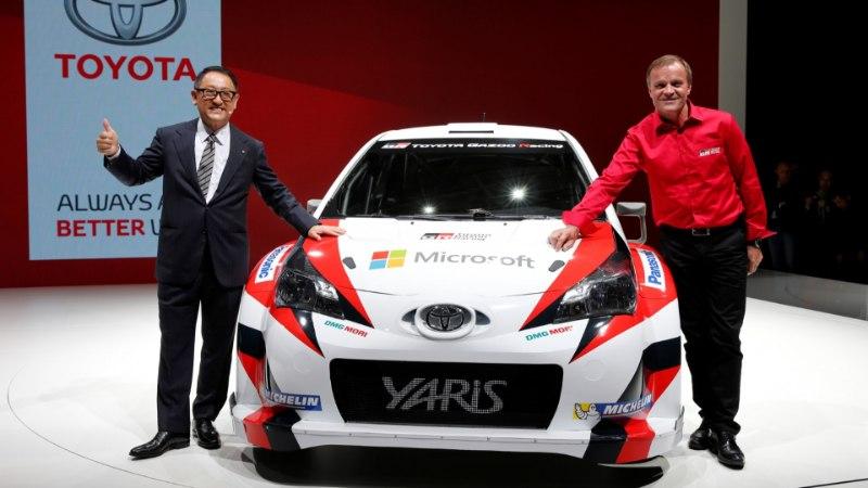 Toyota president: Argentinas jäi Tänak meie tõttu võidust ilma, oli hea meel teda seekord naeratamas näha