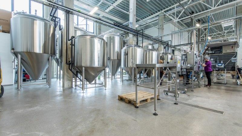 Eesti pruulikoda Tanker avas uue tehase ja suunab toodangu purki