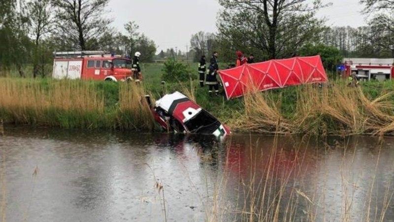 KARM! Kanalisse sõitnud Poola rallimehed hukkusid