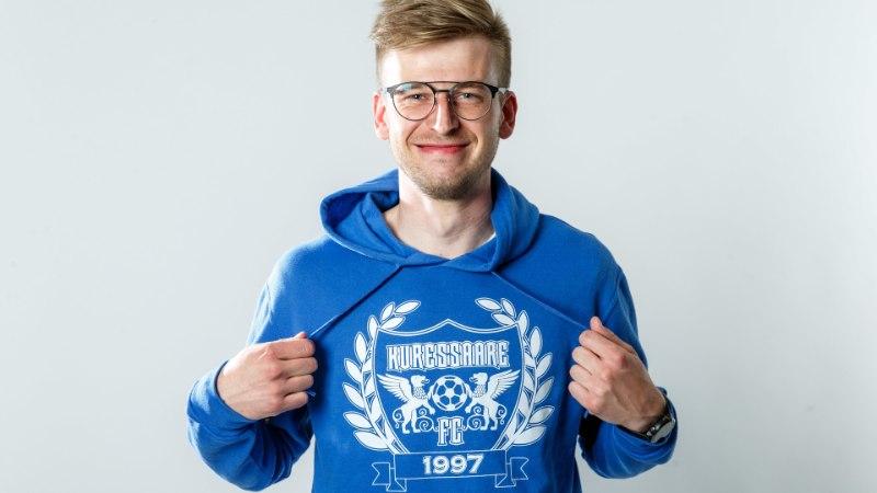 Kuressaare väravakütt Sander Laht: profijalgpalluri elu tundus minu jaoks liiga igav