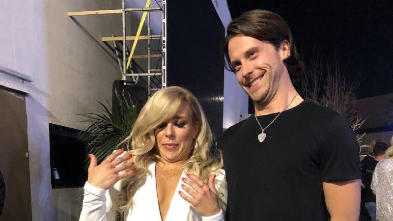 FOTOD | Victor Crone algatas Eurovisionil topeltlõuavõistluse: tahtsin teha midagi naljakat