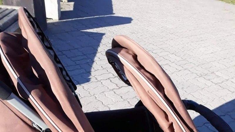 Ребенок найден! У ТЦ Magistral в Мустамяэ украли коляску вместе с младенцем (ФОТО)