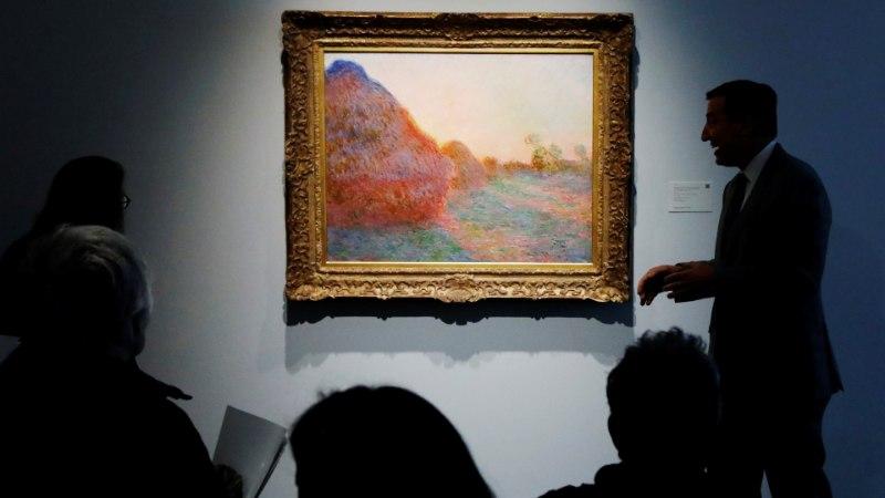 Картину Клода Моне продали за рекордные 110 млн долларов