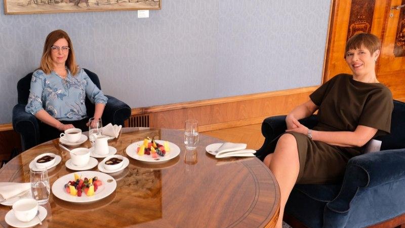 FOTOD | President kohtus Kadriorus uue ministrikandidaadi Kert Kingoga