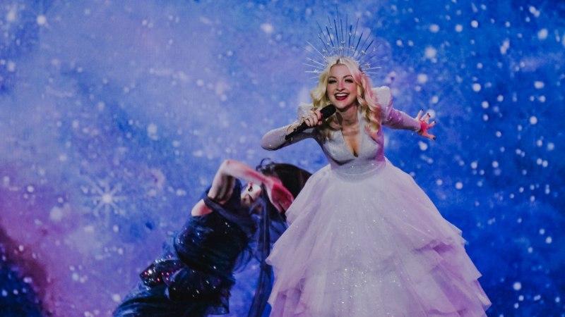 Eurovisioni poolfinaali 10. ja 11. kohta lahutas vaid kaks punkti!