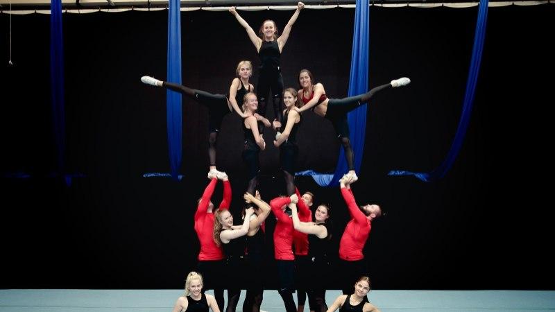 ÕL VIDEO | Eesti cheerleader'id said MMil seitsmenda koha: maailmatippude seas keskele jäämist võib igati õnnestunuks lugeda