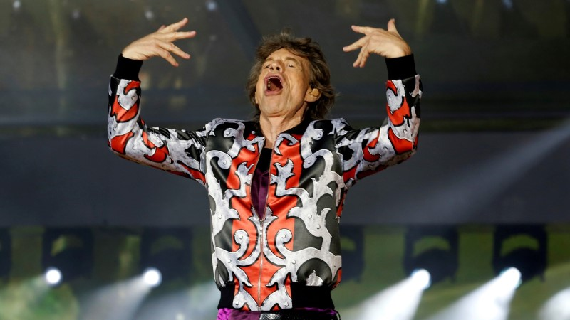 Südamelõikuse läbinud Jagger (75) kepsutab nagu noor sälg!