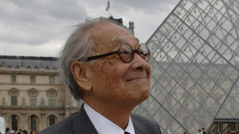 Louvre'i klaaspüramiidi arhitekt suri 102aastaselt