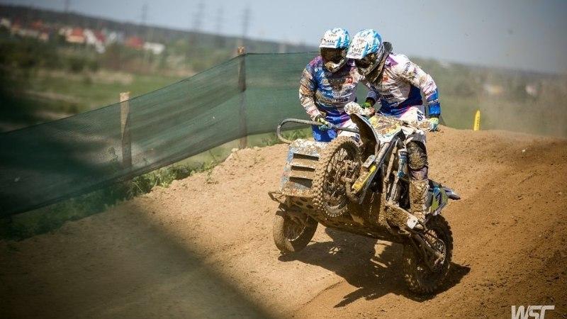 Eestlane saavutas külgvankrite motokrossi MM-etapil teise koha