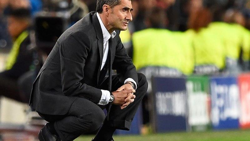 Barcelona peatreener veel ei hõiska: meil oli ka mullu kasutada kolmeväravaline eduseis
