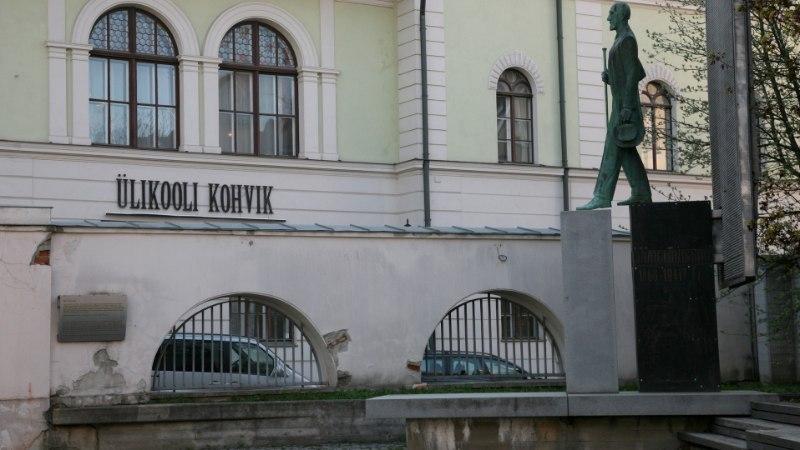Tartu korrastab Tõnissoni platsi tänavamüüri