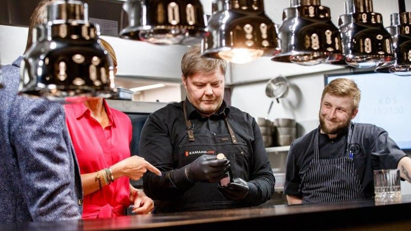 HOMMIKUSÖÖK STAARIGA   Margus Prangel viskas parimad palad otse hõõguvatele sütele