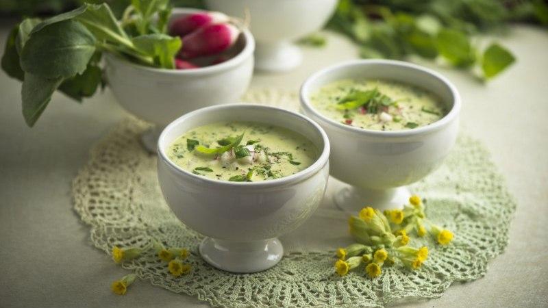 Roheline supp, soe või külm