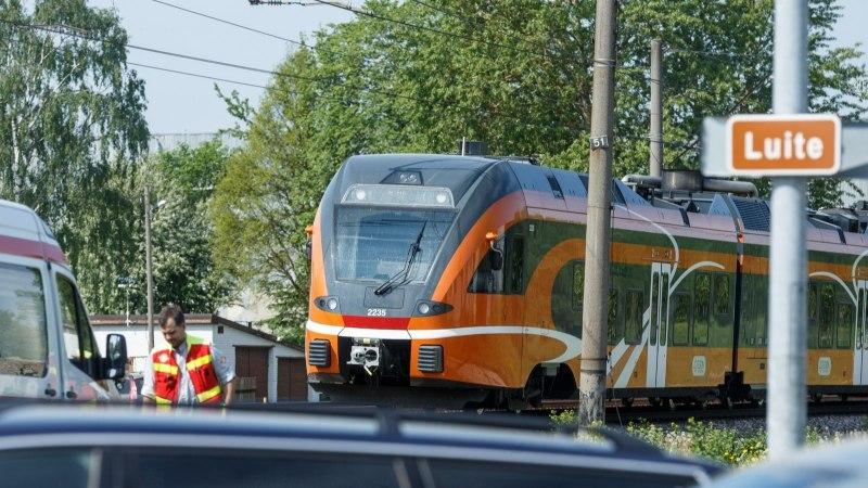 Elron: õnnetuse hetkel oli rongi kiirus lubatust aeglasem