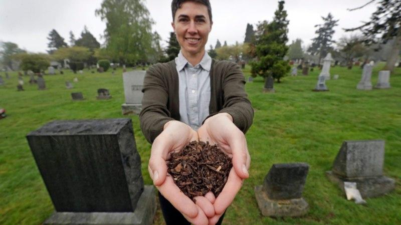 ROHELINE IDEE: USAs hakatakse inimlaipadest komposti tegema