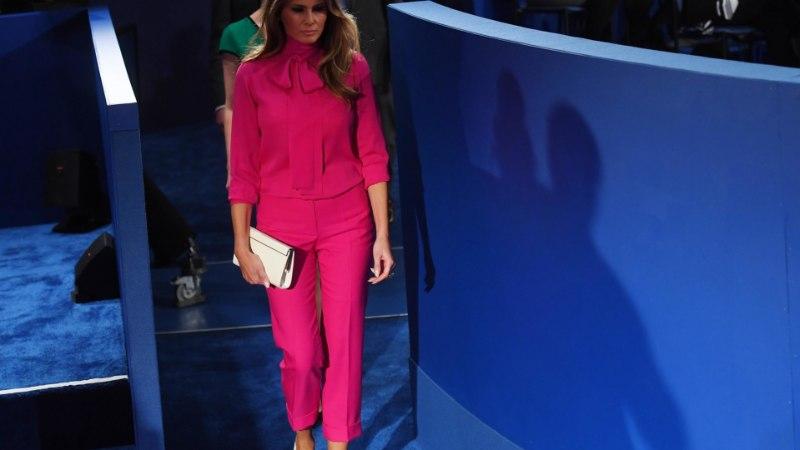 Hunt lambanahas ehk Milliseid sõnumeid saadab lehviga pluusi kandev naine?