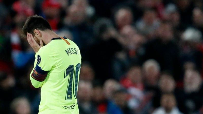 """Lionel Messi palus fännidelt vabandust: """"See oli üks mu karjääri halvemaid kogemusi."""""""