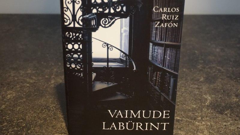 ARVUSTUS   Zafón Unustatud Raamatute Surnuaias: väärt lood on juba minema tassitud