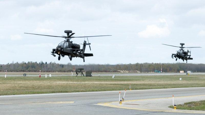 FOTOREPORTAAŽ JA VIDEO | Eesti taevas tiirutab maailma kõige kurjema välimusega helikopter