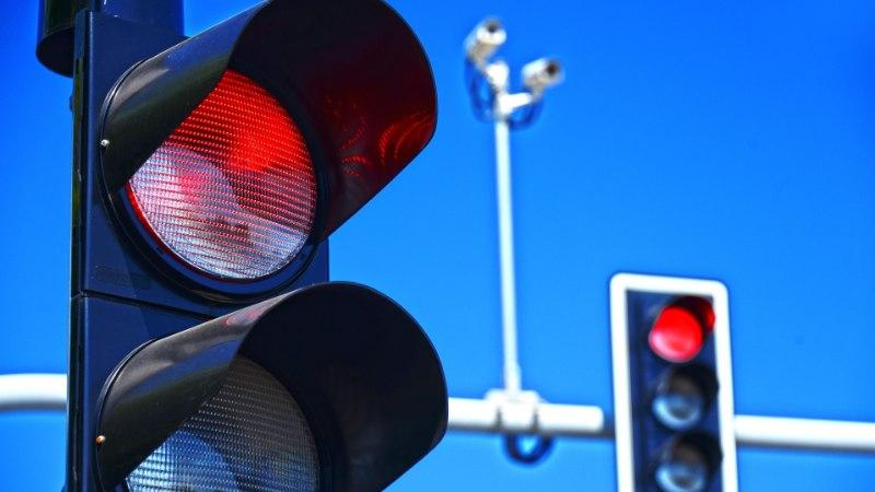 Kristiine ristmikul võtab kiiruskaamera nüüdsest vahele ka punase tulega sõitjad
