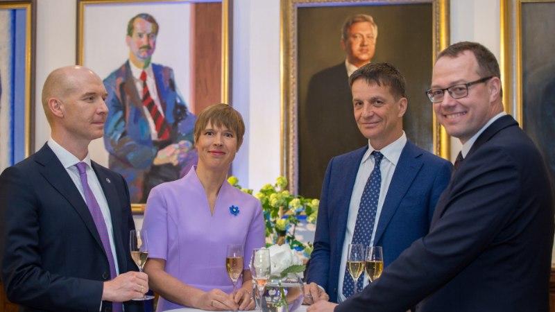 GALERII   Keskpank tähistas 100. aastapäeva piduliku vastuvõtuga
