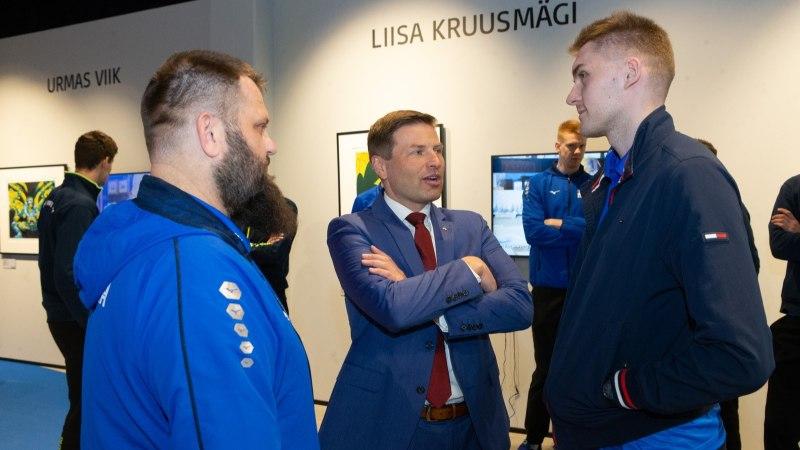 GALERII | Kunst kohtus spordiga: Eesti koondised alustasid teekonda suurturniiridele