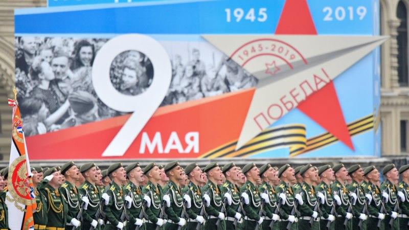 GALERII   Moskva Punasel väljakul toimus võidupüha paraad