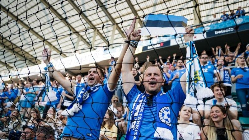 Eesti ja Saksamaa jalgpallimängu pääseb vaatama veel 2500 õnnelikku inimest