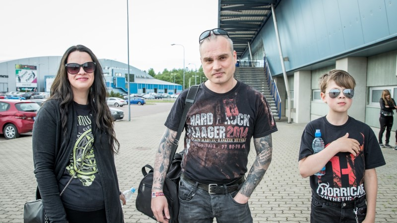 GALERII | Disturbed esines Saku suurhallis: kontsert oli nii ehe, et tüdrukud esireas nutsid