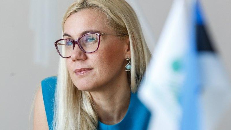 LIPUSAAGA: Kadri Simson tahaks riigikogus näha Euroopa Liidu, NATO ja ÜRO lippe