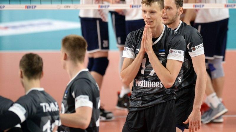 KEHV ÕHTU: Eesti võrkpallikoondis jäi kindlalt Hollandile alla, naised kaotasid Kreekale