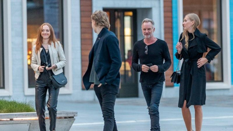 FOTOD | Sting õhtustas kahe tuntud eestlannaga peenes Tallinna restoranis