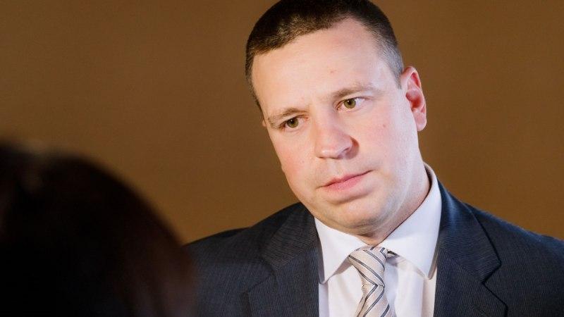 Jüri Ratas selgitas riigikogu saadikutele infotunnis Ida-Virumaa kriisi lahendusi