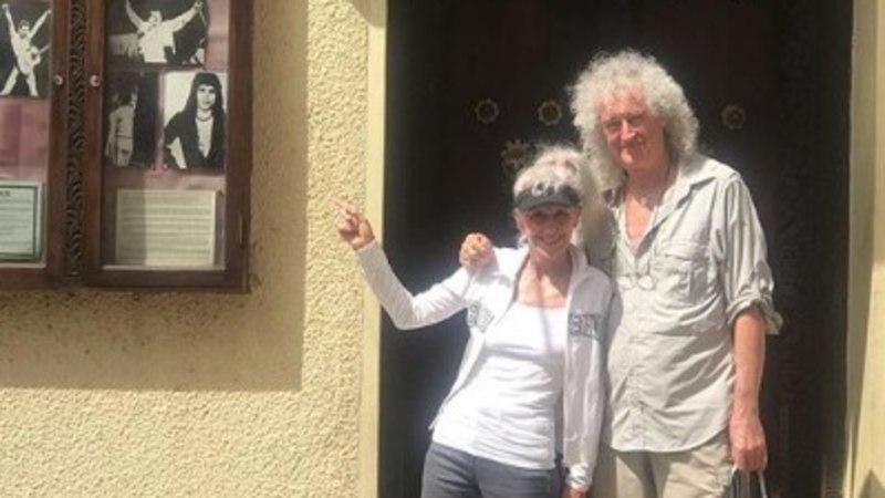 Brian May tegi palverännaku Freddie lapsepõlvekoju