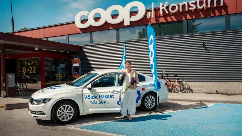 COOPi autoloosi võitja: mul on olnud mitu Volkswagenit, aga mitte nii ilusat ja uhket nagu see Passat!