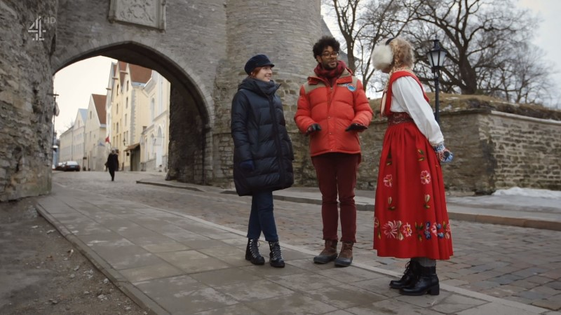 """VAATA SAADET! Kuulus Briti koomik külastas saate """"Travel Man"""" raames Tallinnat ja armus Eesti inimestesse!"""