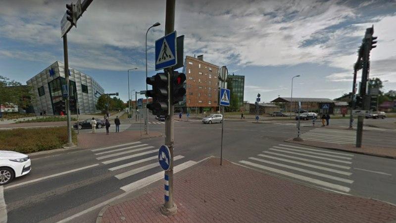 Сегодня закрываются для движения перекрестки улиц Йыэ, Лоотси и Ахтри
