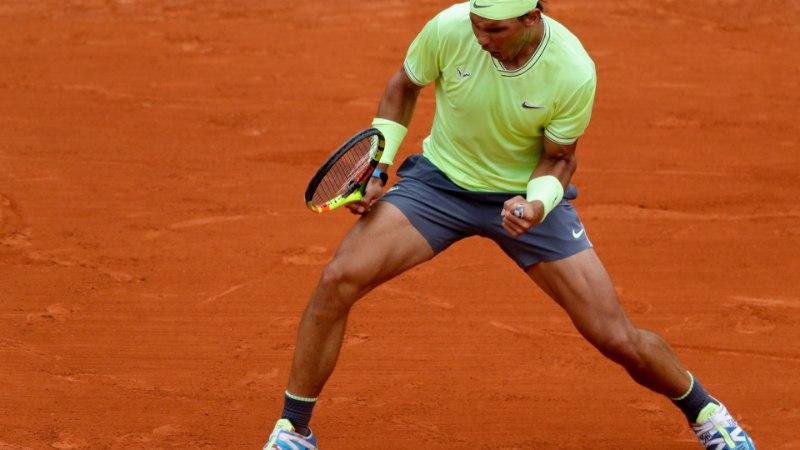 MÜSTILINE MEES! Rafael Nadal võitis 12. korda Prantsusmaa lahtised meistrivõistlused